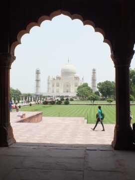 Views of the Taj Mahal