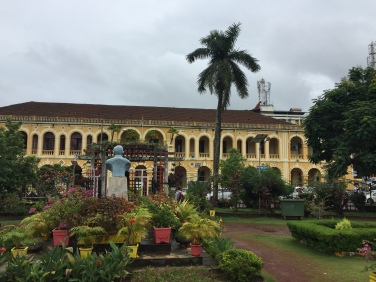 The main square in Margao